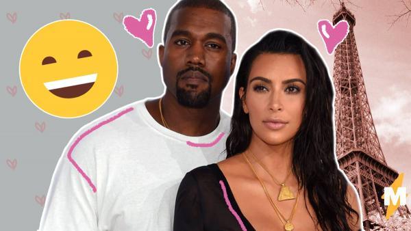 Ким Кардашьян повеселила соцсети совместным фото с Канье Уэстом. В нём вся разница между мужчинами и женщинами