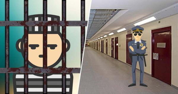Заключённые устроили бунт, взяли заложника и выдвинули требования. Но копы быстро обезоружили их - шоколадкой