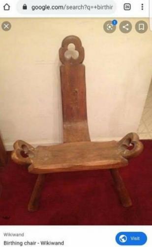 Отец купил дочке антикварный стул, но его предназначение всех удивило. Судя по нему, в подарке скрыт троллинг