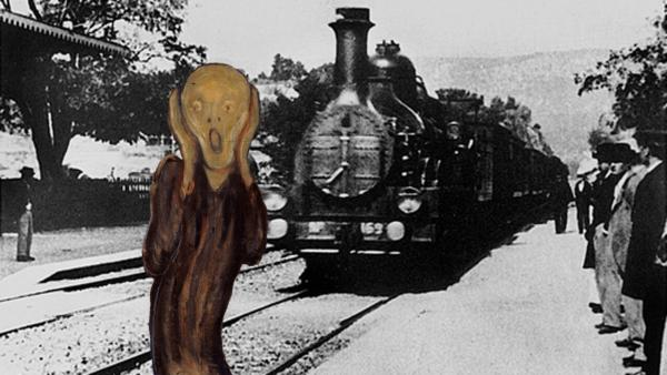 """""""Прибытие поезда"""" братьев Люмьер снова заставляет людей понервничать. Ведь над фильмом поработали нейросети"""