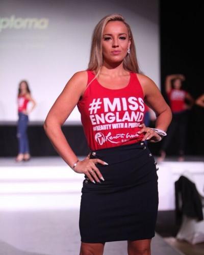 Девушка весила 108 килограммов и пережила тяжёлое расставание. Но отчаяние сделало её Мисс Великобританией