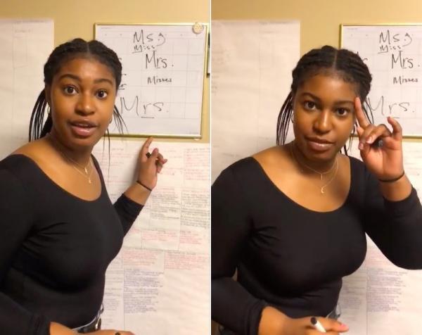 Девушка построила идеальную теорию о слове Mrs., но сильно ошиблась. А ведь нужно было всего-то погуглить