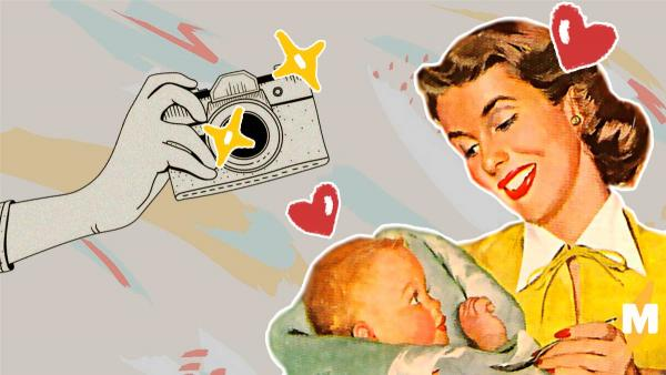 Родители пришли на фотосет с младенцем. Но они не расстроены, ведь им удалось поспать