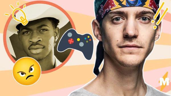 Ninja рассказал, почему геймерам нужно злиться, но люди не оценили его идей. Зато Lil Nas X узнал в них себя