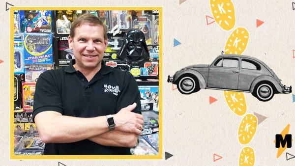 Мужчина купил машинку Hot Wheels, а теперь может и настоящую. Ведь игрушка принесла ему целое состояние