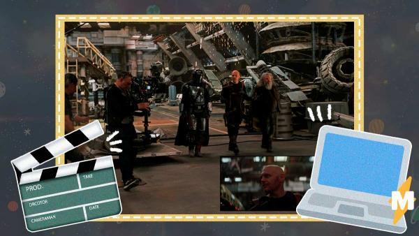 """Создатели """"Мандалорца"""" показали, как избавились от """"зеленого экрана"""". Помогла технология, достойная Мистерио"""