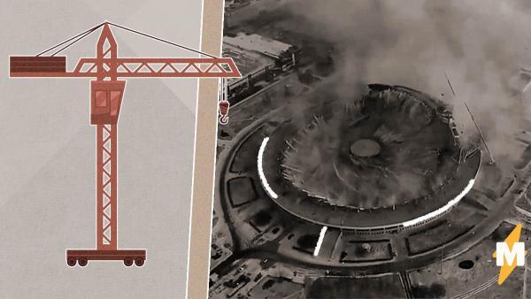 Власти Петербурга не знают, кто вёл демонтаж рухнувшего стадиона. Но он продолжится даже после гибели рабочего