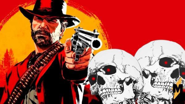 В Red Dead Online на игроков нападают двухголовые скелеты. Они неуязвимы, но геймеры нашли решение проблемы