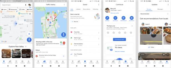 Google Maps сменили дизайн в честь 15-тилетия. И обзавелись фичами, дающими узнать даже температуру в автобусе