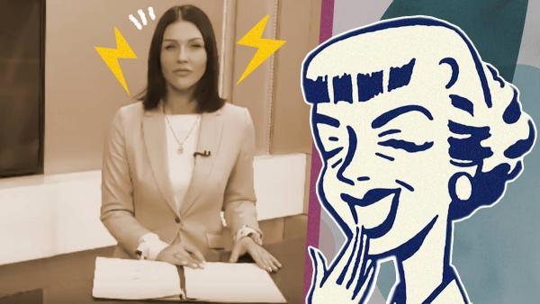 Телеведущая на Камчатке не могла сдержать смех от новости про льготы. В Сети переживают за ее карьеру