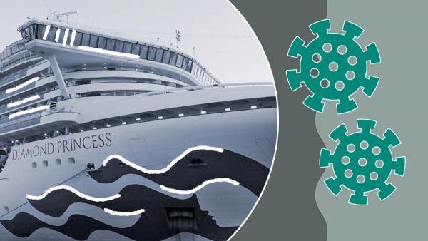 """Жертв коронавируса на лайнере """"Diamond Princess"""" становится больше. Но на """"плавучей тюрьме"""" не унывают"""