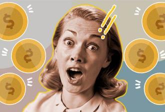 Мама с дочкой разбили копилку и нашли там монетку. Но такую, что легко получат за неё кругленькую сумму
