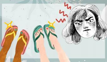 «Переживаете из-за некрасивых ступней?» Сандалии с сюрпризом напугали людей — но это не простой аксессуар