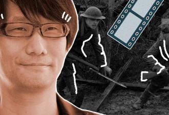Хидэо Кодзима запостил в твиттере загадочный трейлер. Но фаны всё разгадали, и это встреча двух гениев