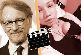 Дочь Стивена Спилберга тоже подалась в кино. Точнее, в порно, но её папа и жених не против