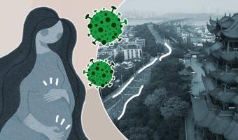 В Ухане впервые нашли коронавирус у новорождённого младенца. Он может передаваться от матери к ребёнку