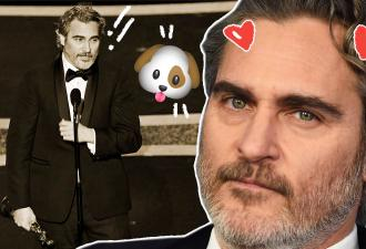 Хоакин Феникс обрадовал фанов «Оскаром», а речью — не совсем. Слишком уж яростно заступился за зверей