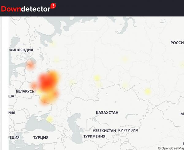 У МТС сбой в центре России. Пользователи жалуются на отсутсвие связи и интернета