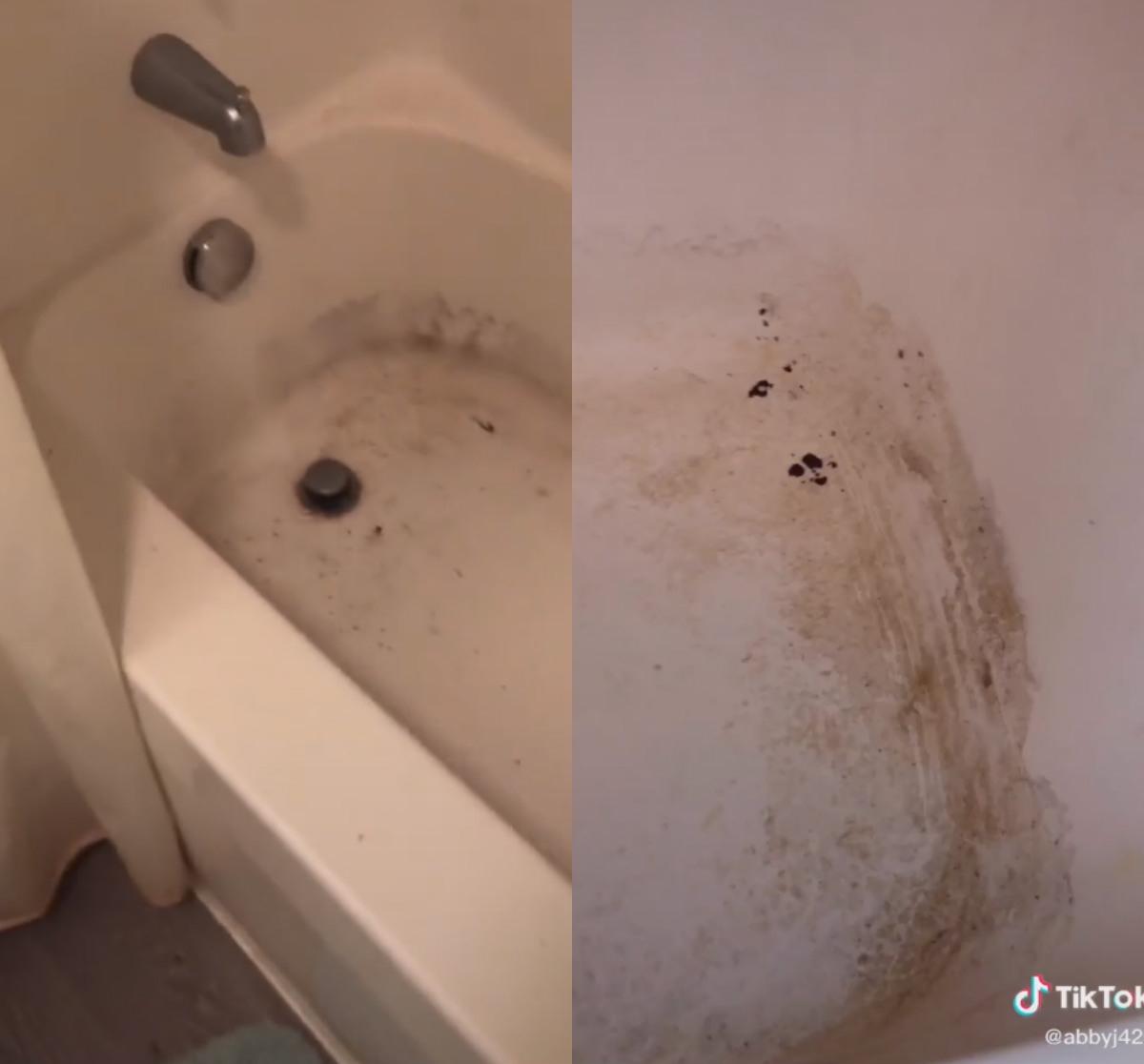 Девушка помыла ванную и стала звездой на TikTok.