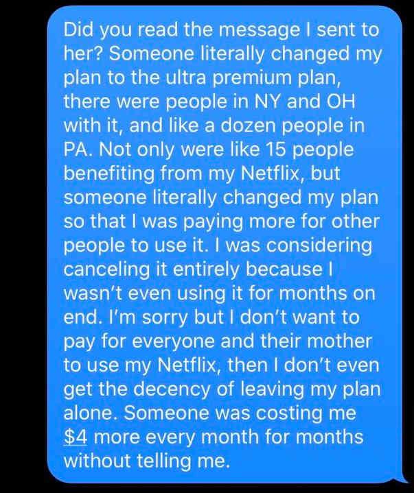 Парень дал маме пароль от Netflix, а потом пожалел. Ведь она провернула с учёткой настоящую преступную аферу