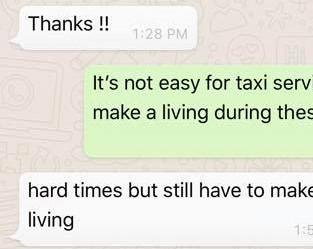 Таксист врезался в Porshe