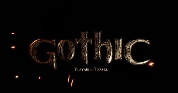 """Теперь официально: у легендарной """"Готики"""" будет полноценный ремейк. Спасибо геймерам, оценившим прототип"""
