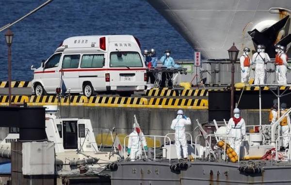 Россиянка заразилась коронавирусом. Она подхватила его на круизном лайнере Diamond Princess