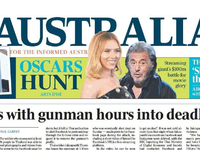 Газета неправильно расположила на обложке мужчину и женщину