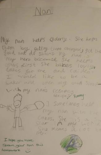 Школьники писали сочинение о своих кумирах