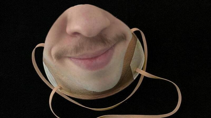 Дизайнер показала маску от коронавируса, которая разблокирует iPhone. И выглядит она, как двойной провал