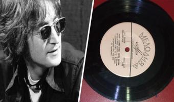 Иностранцы увидели советскую пластинку The Beatles и захотели её себе. Она такая одна и была незаконна в СССР
