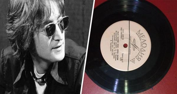 Иностранцы увидели советскую пластинку The Beatles и захотели её. Но она такая одна, и была незаконной в СССР
