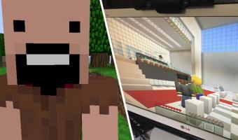 «Это заставляет чувствовать себя в «Матрице». Школьники провели выпускной, не выходя из домов — в Minecraft