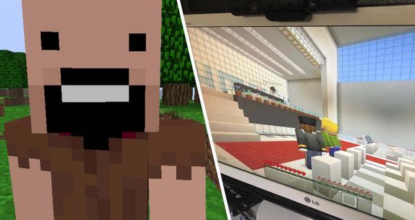 """""""Это заставляет чувствовать себя в """"Матрице"""". Школьники провели выпускной, не выходя из домов - в Minecraft"""