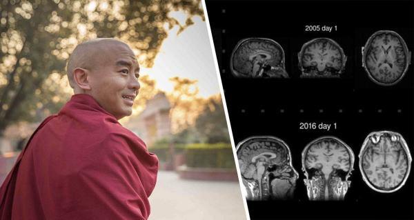 Сотрудничающий с учёными тибетский монах знает секрет долголетия. Опыты доказали - медитация тормозит старение