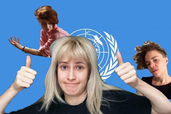 Люди не верят своим глазам: nixelpixel выступит в ООН. Ну а феминисток в этом приглашении задело другое
