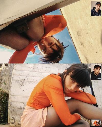 Фотографы снимают красивых девушек на карантине. Им помогает веб-камера, и это настоящее искусство XXI века