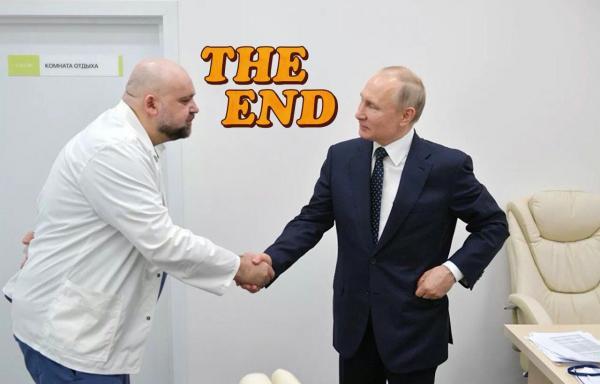 """Песков что-то знал"". Люди узнали про COVID-19 у главврача Проценко - и шутят про Путина и его пресс-секретаря"