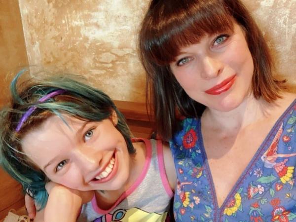Дочь Миллы Йовович получила первую большую роль в кино. И у этой Венди будет нестандартный Питер Пэн