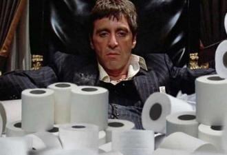 Покупатели сметают туалетную бумагу из-за COVID-19, но шутники не отстают. И отбиваются упоротыми мемами