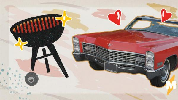 Мужчина нашёл свою старую Chevrolet Impala, но результат - боль. Кто-то переделал легенду в мангал для шашлыка