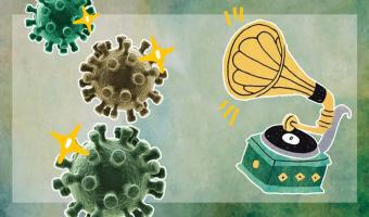 Как звучит коронавирус. Музыкант преобразовал ДНК штамма в музыку, и люди готовы ставить этот трек на звонок