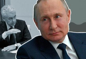 Собянин рассказал Путину, как коронавирус шагает по стране. И президент тут же поехал в больницу в Коммунарке