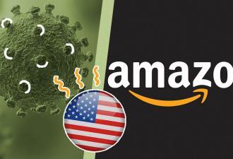 Работник Amazon подхватил коронавирус в США. К заболевшим людям все привыкли, но теперь под угрозой посылки