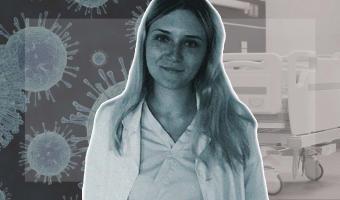 «Сдохни или умри». Московская медсестра описала в инстаграме свою смену в стационаре для больных COVID-19