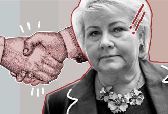 В Сети завирусилось видео с премьером Норвегии. Она хотела пожать коллегам руки — и опомнилась в последний миг