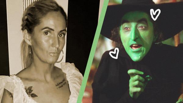 """Женщина хотела загар, но стала персонажем """"Волшебника страны Оз"""". Нет, не Страшилой, а зелёной ведьмой"""