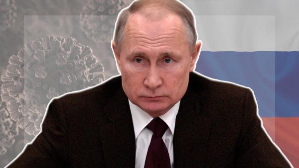 Путин обратился к нации из-за коронавируса.