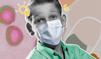 Пока взрослые боятся коронавируса, дети от него в восторге. Малыши превратили его в игру, и это заразительно