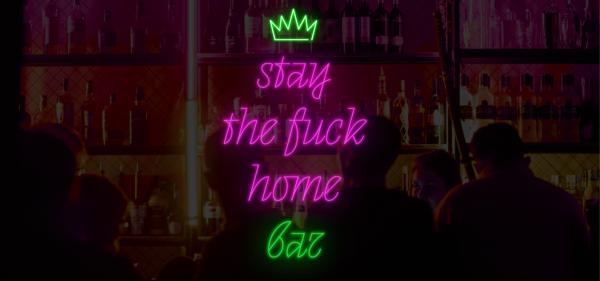 Креативщики открыли онлайн-бар Stay The **** Home Bar. Теперь во время самоизоляции можно попасть на вечеринку